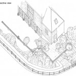 Chris Hayes Garden Design - 3d perspective